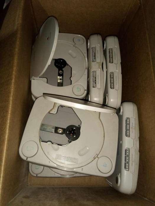 Lote De 10 Playstation 1 Modelo One