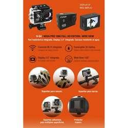 CAMARA DEPORTIVA NOGA PRO G4 ACTION CAM SUMERGIBLE 30MTS FULL HD 1080P 900MAH WIFI MICRO HDMI