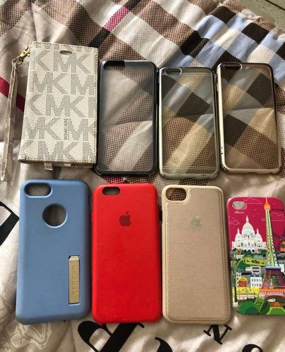 Forros para iPhone 4, 6, 7