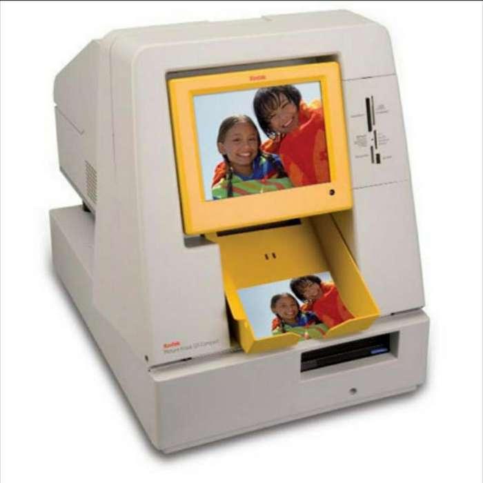 Kiosko Kodak con Impresora 6800 Completa