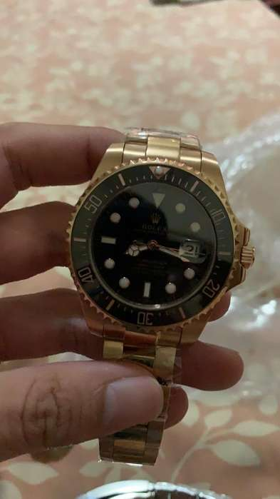 <strong>rolex</strong> Submariner Gold Rose Automatico
