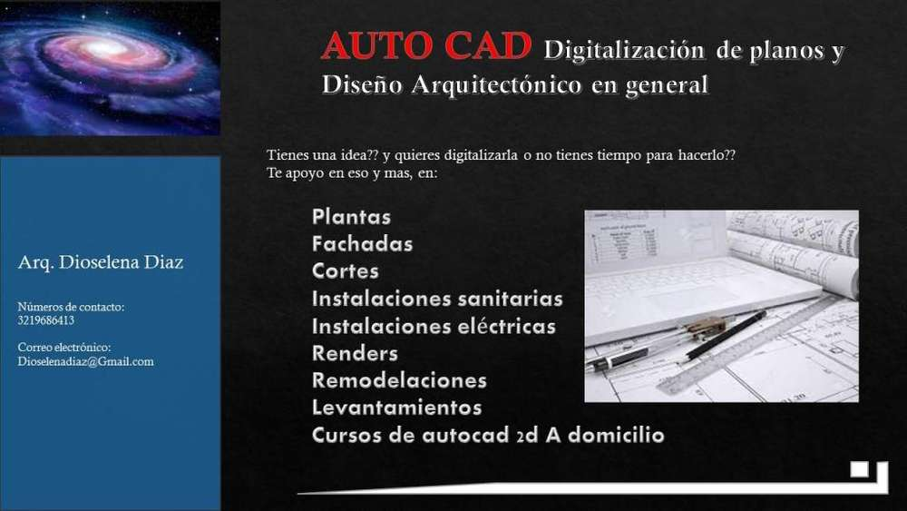 Digitalizacion de Planos Y Curso Autocad