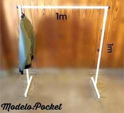 Perchero Desarmable Modelo Pocket