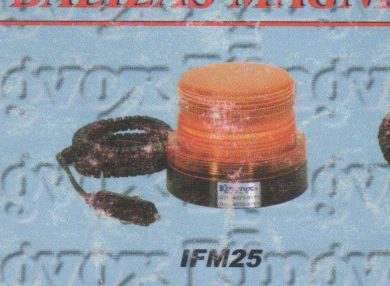 BALIZAS Flash Luz Estroboscópicas Magnéticas para Vehículos 12 Volts.