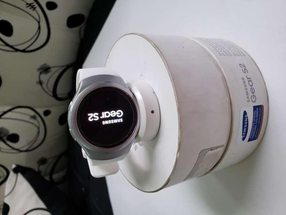 Smartwatch samsung gear s2 r-720, caja manuales cargador, perfecto