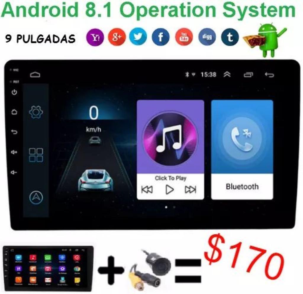 Pantalla 10plg Androide Retractil Nuevo