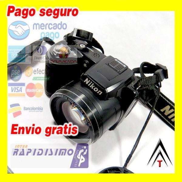 Nikon COOLPIX L110 12.1MP Digital Camera 15x Optical VR Zoom, 3 LCD 12,1 mp Flash Graba Videos HD Estabilizador