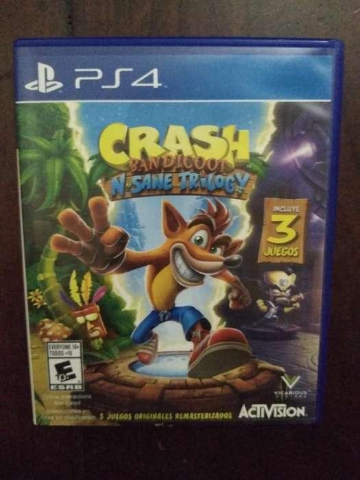 Ps4 Original Crash Bandicoot 3 Juegos.