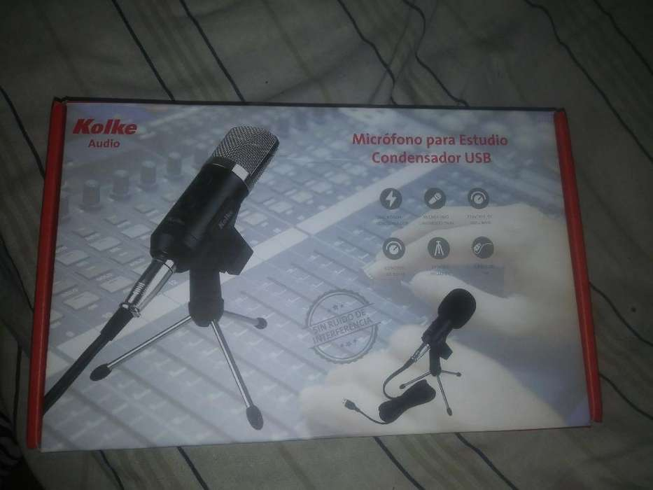 Microfono Condenser Usb