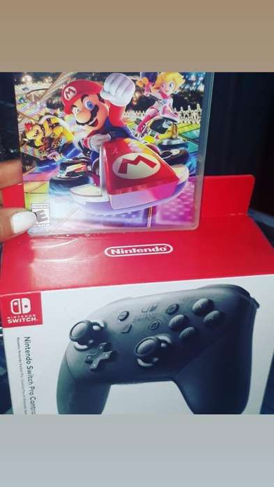Control Pro Switch Mas Juego