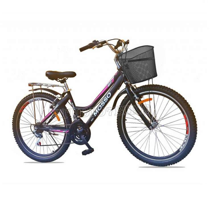 Bicicleta De Mujer Urbana Turística Aro 26