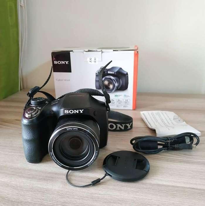 Cámara Sony Compacta DSC H300 35x Zoom 20.1mpx