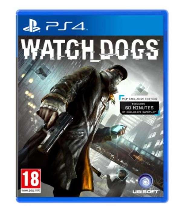 Watch Dogs Juego Fisico Ps4 Usado