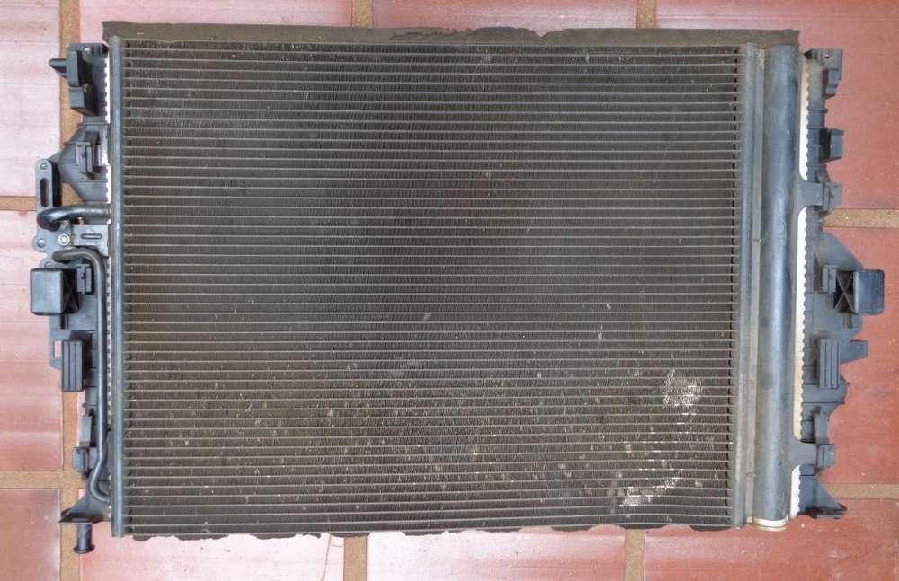 Radiador y condensador AC Valeo original Ford Mondeo 2.3