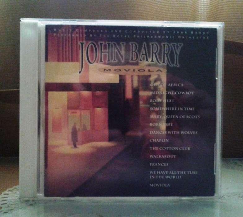 Cd John Barry: Moviola. Bandas Sonoras del Cine