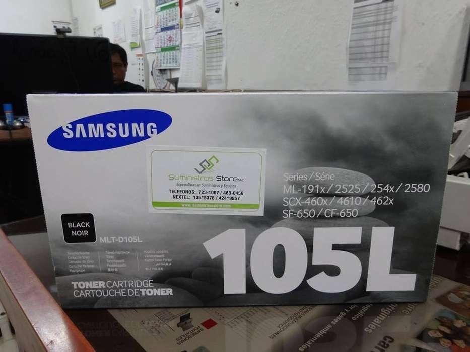 Toner para samsung modelos SCX4600 y SCX4623FW original