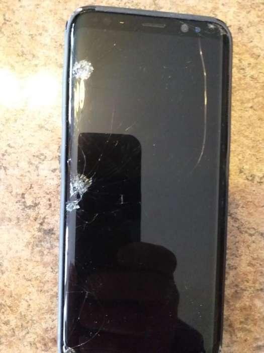 Samsung S8 Pantalla Rota, No Se Ve