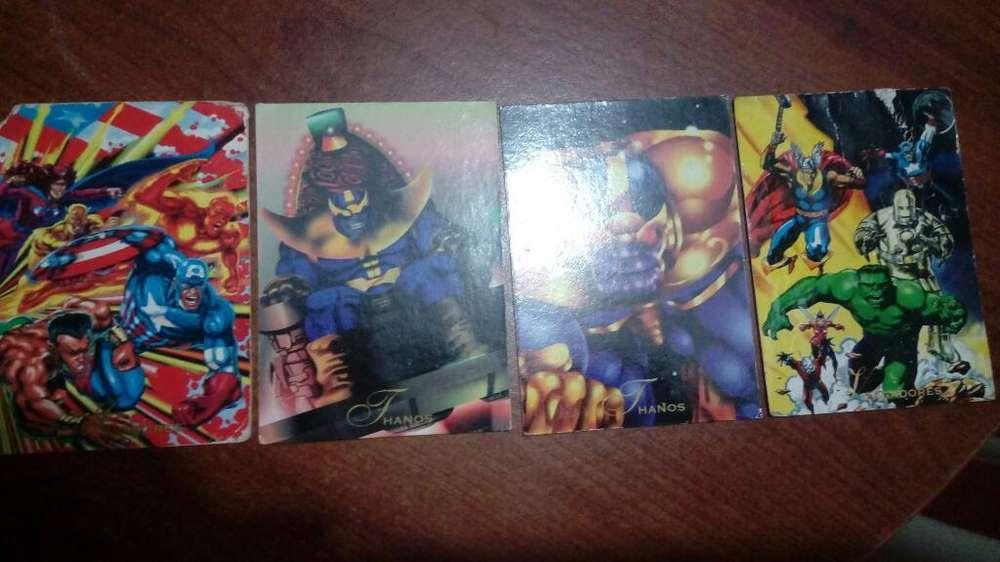 Cards Coleccionables Marvel-dc Pepsi