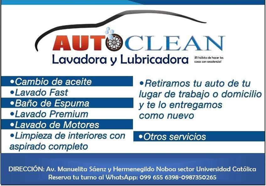 lavadora y lubricadora AutoClean