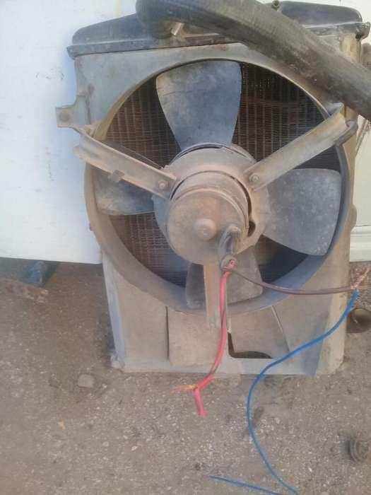 Radiador con Electro Senda Gasel Gol