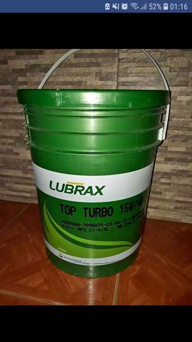 Lubrax Aceite