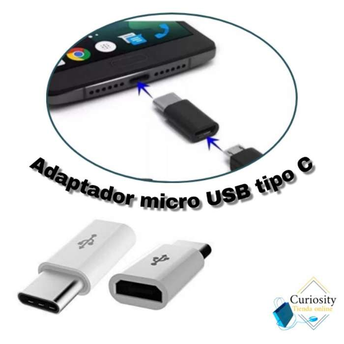 Adaptador Tipo C a Micro Usb