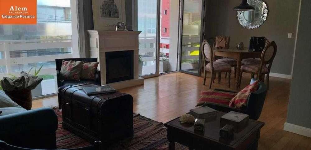 Alquiler por 24 meses de exclusivo departamento de 3 ambientes con cochera