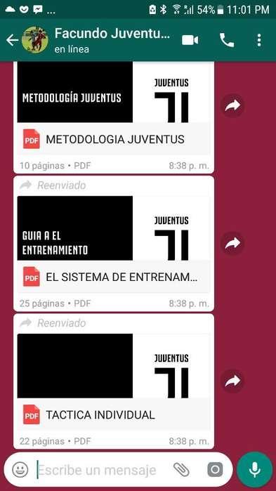 Metodologia Inferiores Juventus Futbol