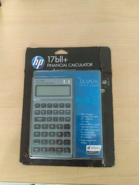 Calculadora financiera HP UPC 808736628204 (NUEVA)
