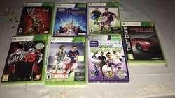 Xbox 360 con kinect y 7 juegos originales