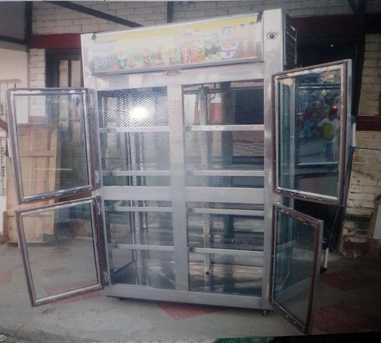 Vendo Nevera Vertical Y Congelador Acera