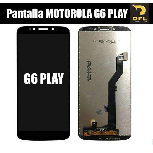 Pantalla moto g6 play Instalacion incluida - Tienda Física