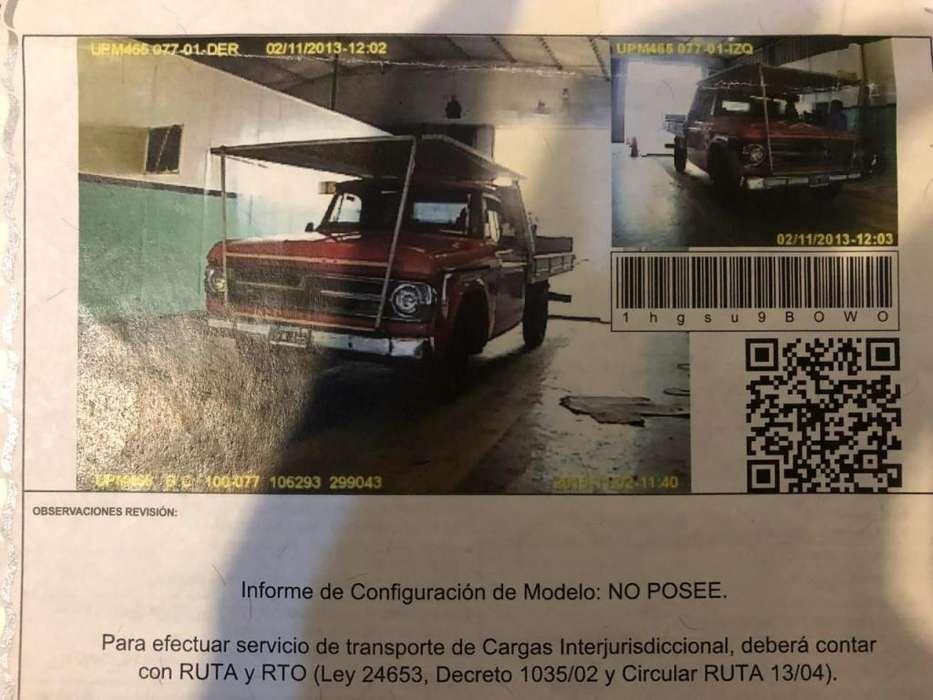 Venta Camioneta Dodge 200 año 1980