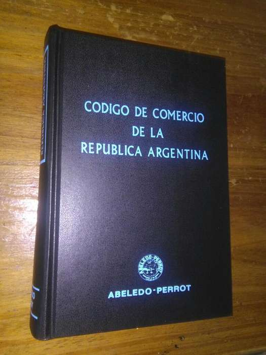 Codigo de Comercio de la Republica Argentina Libro Abeledo Perrot 1999