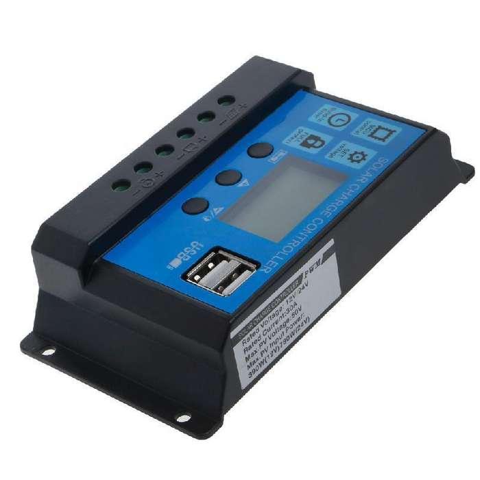 Regulador Cargador Bateria Solar 20a 12v 24v