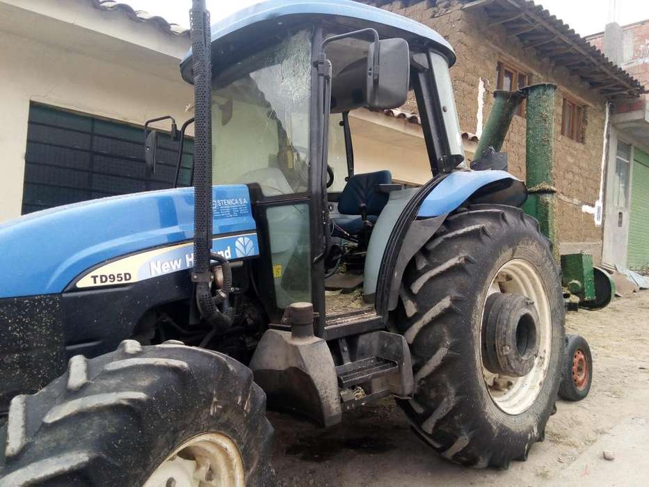 REMATO TRACTOR AGRICOLA NEW HOLLAND TD 95 AO 2012