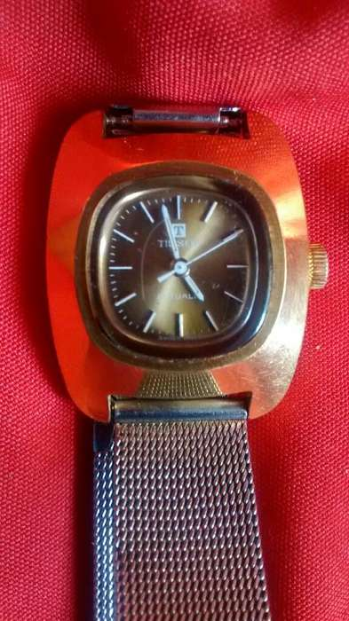 Lindo Reloj Tissot de Cuerda de Mujer