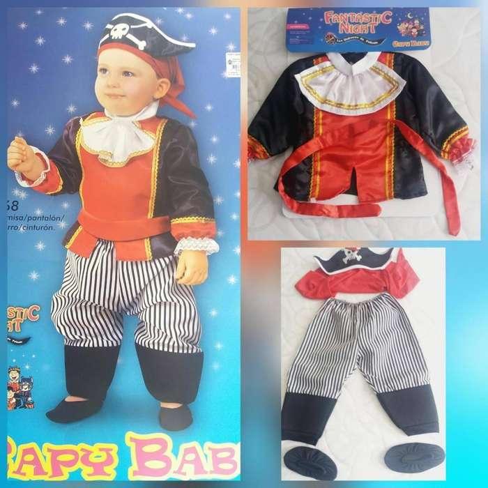 Disfras Capitan Pirata