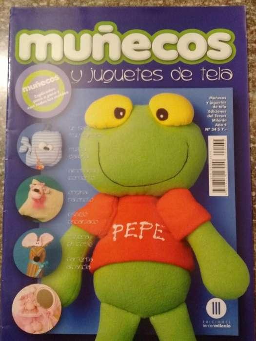 Muñecos Y Juguetes de Tela Año 3 N34
