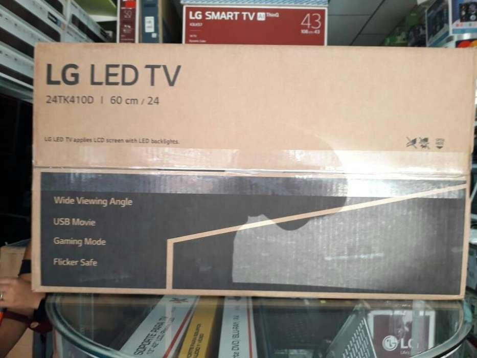 Tv Monitor Led Lg 24 Pulgadas Lo Puede
