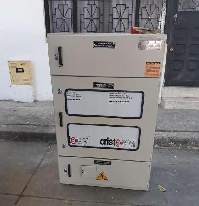 ARMARIO PARA 6 CONTADORES ELÉCTRICOS
