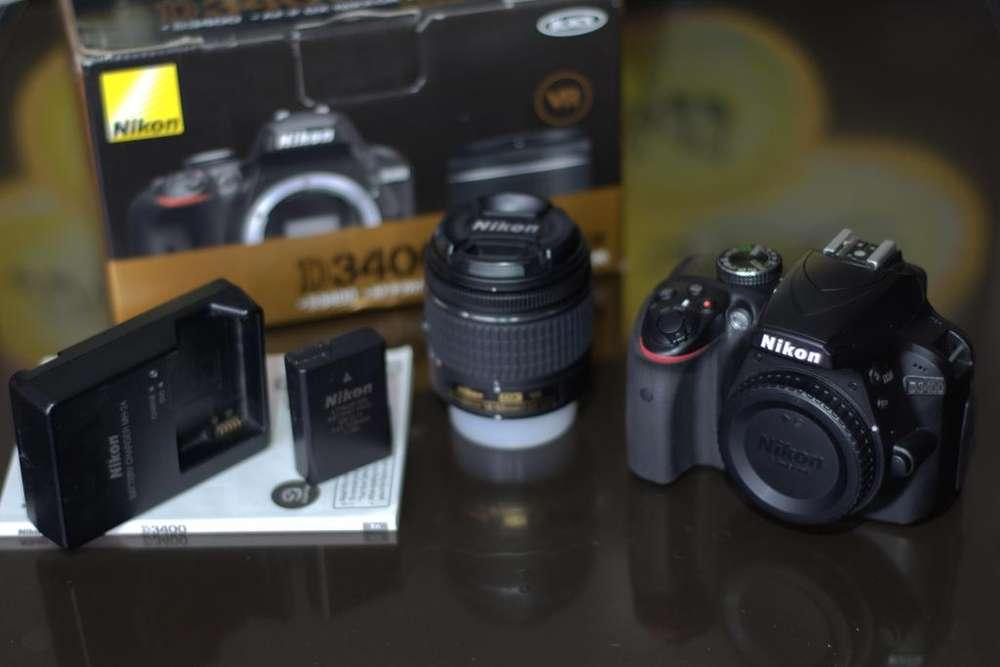 De Oportunidad!!! Nikon D3400