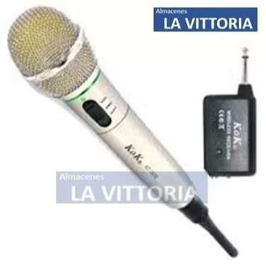 Microfono Para <strong>karaoke</strong> Con Cable Y Sin Cable Facil De Usar