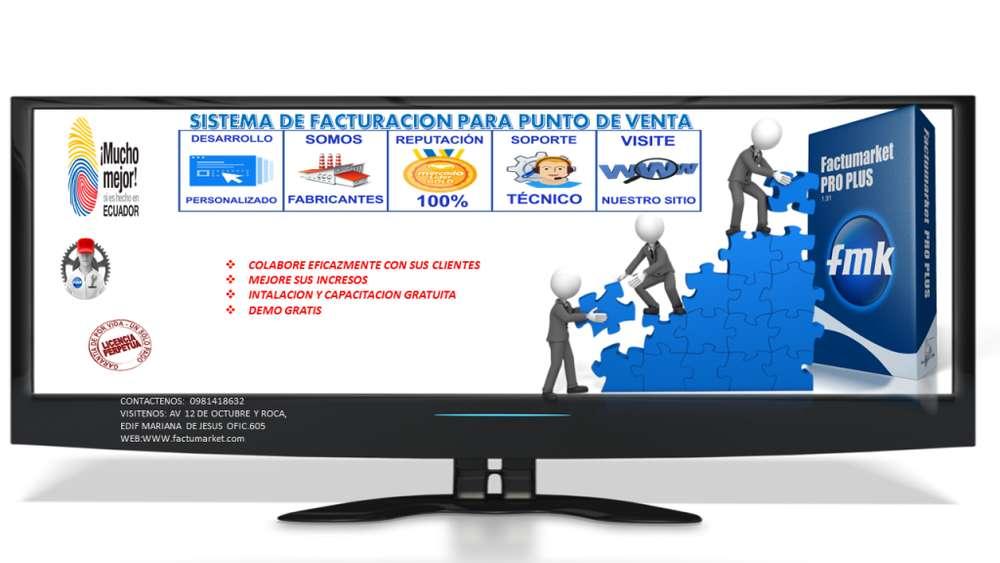 Sistema D Facturación Punto D Venta Kit Completo Quito