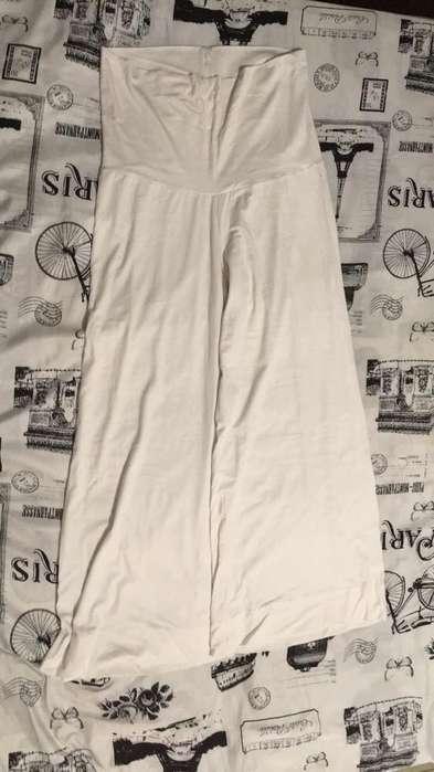 Pantalon Materno T/12 Elastico Algodon