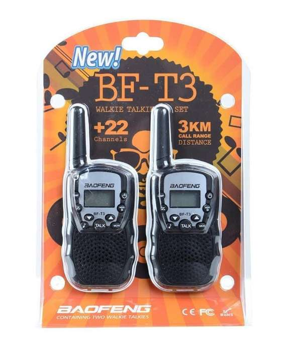 Walkie Talkies Baofeng Bf T3