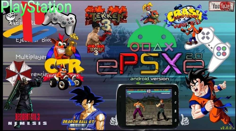 Playstation para Androide Mas Juego