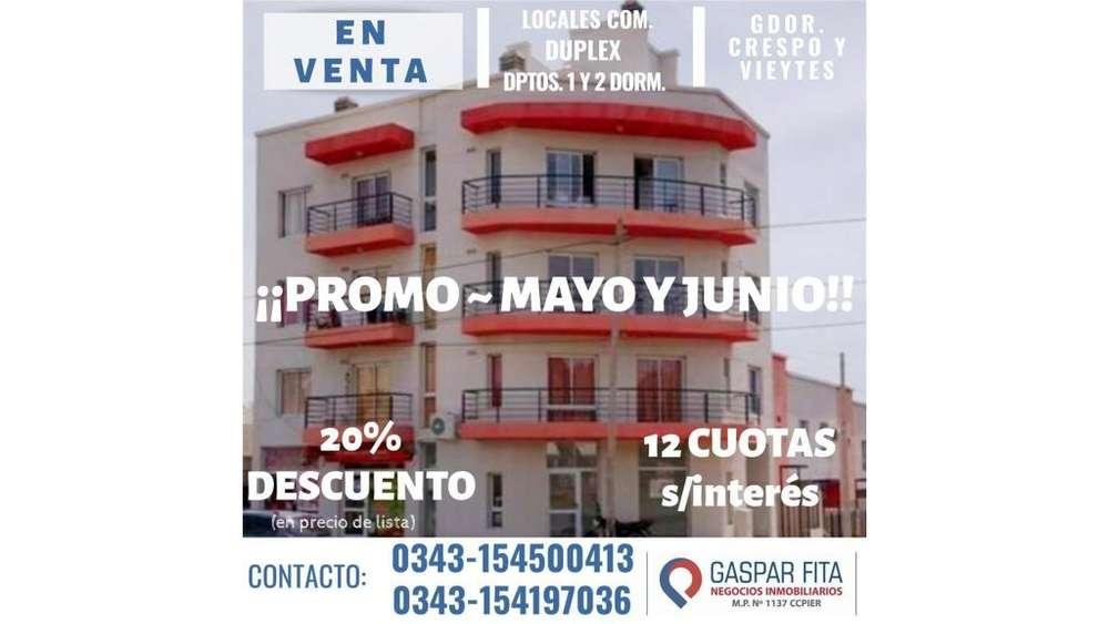 Edificio Crespo - Gdor. Crespo 100 - UD 67.000 - Departamento en Venta