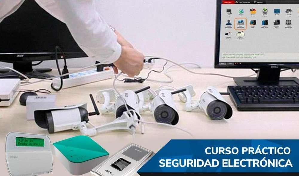 ULTIMOS CUPOS CURSO SEGURIDAD ELECTRONICA QUITO