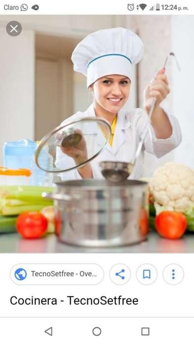Se Necesita Señora para La Cocina